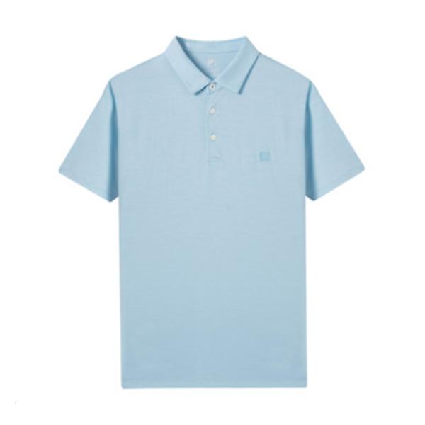 FILA 斐乐官方黄景瑜同款 男子POLO衫 2019秋季新款商务羊毛短袖
