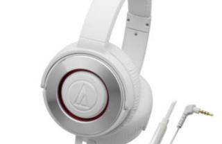 铁三角ATH-WS550iS便携头戴耳机