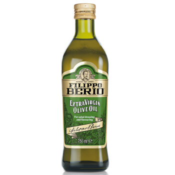 意大利原装进口 翡丽百瑞( FILIPPO BERIO)橄榄油 特级初榨橄榄油750ml瓶装