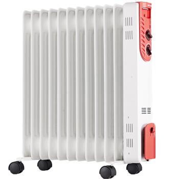 先锋(SINGFUN)取暖器电暖气电暖气片电油汀家用电暖器12片室内加热器 白色 DS1342