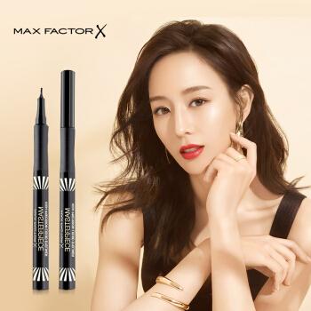 蜜丝佛陀(Max Factor)炫黑变幻描绘眼线液 1ml 黑色,降价幅度43.9%