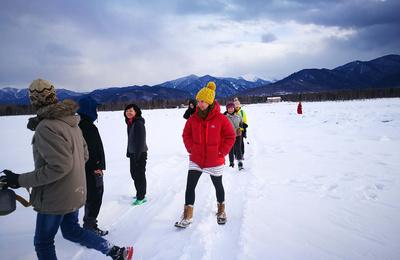 我的第一个冰雪马拉松