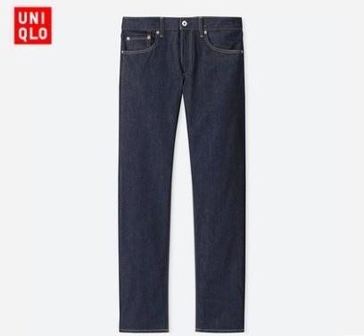 男装 经典直筒牛仔裤(水洗产品) 408488 优衣库UNIQLO