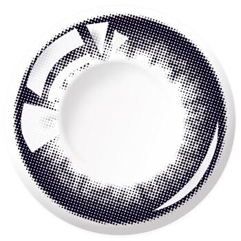 海昌 美瞳彩色隱形眼鏡日拋 星眸30片裝 瑪瑙黑 475度,降價幅度13.9%