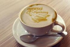 这个咖啡机能为你打印个性化拉花