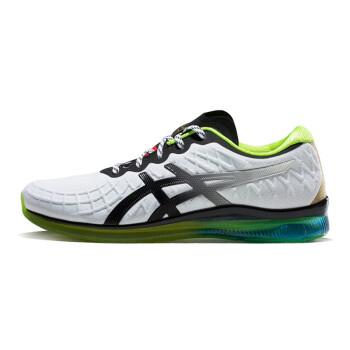ASICS亚瑟士 男跑步鞋GEL-QUANTUM 1021A056-002 白色/黑色 44