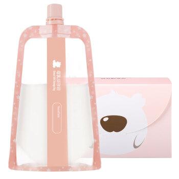 小白熊 (Snow Bear)储奶袋 多功能母乳储存袋 果汁储存袋 保鲜袋 30片装 220ml 09779
