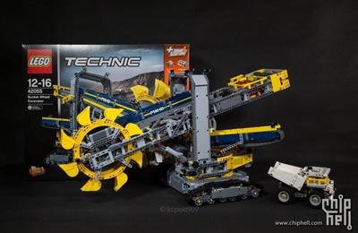 [拼装+DIY] 「霸气的旗舰」乐高 LEGO 42055 开箱体验