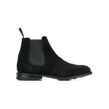 CHURCH'S 男士 切尔西及踝靴 黑色 UK10,降价幅度20.6%