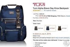 Tumi Alpha Bravo Knox Backpack 双肩背包,附专柜刻字过程