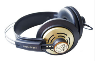 AKG K121S监听耳机