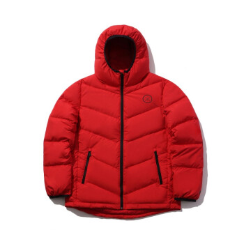 李寧官方羽絨服男子短羽絨服90%鵝絨韋德系列AYMP075 公牛紅-4 XXL,降價幅度24.2%