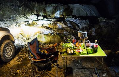 星空、露营、瀑布、火锅……不一样的新年之旅