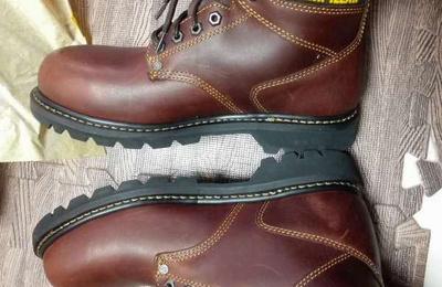 CAT 卡特彼勒 工装靴双子晒单