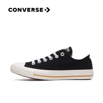 CONVERSE匡威官方 All Star Cali 低帮休闲帆布鞋165691C 黑色/165691C 41.5/8,降价幅度26.7%