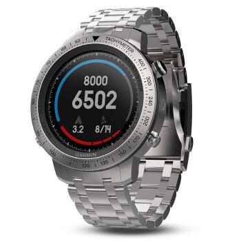 佳明(GARMIN)飞耐时fenix chronos酷龙多功能GPS户外HR光电心率跑步骑行腕表精钢表带中文版