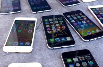 视频:史上最狂虐机  14部iPhone的坠落测试