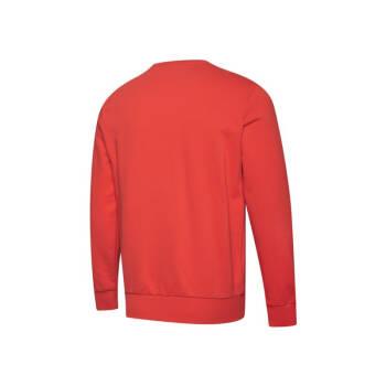 PUMA彪马官方 男子印花圆领套头卫衣 CLASSICS 595892 鲜红色 11 XL