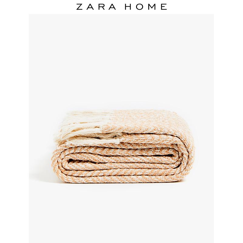 Zara Home 人字斜紋設計毛毯 44677004710,降價幅度62.7%