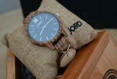 生日礼物惊喜——Jord木质手表