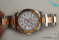 劳服保养归来的ROLEX DATEJUST'TURN-O-GRAPH'116264 爬山虎