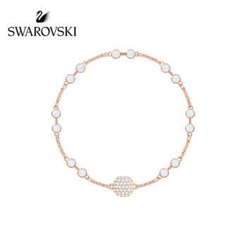 SWAROVSKI 施華洛世奇 鍍玫瑰金色 閃耀經典 DIY手鏈 Swa Remix 手鏈女 時尚飾品 女友禮物 5435651