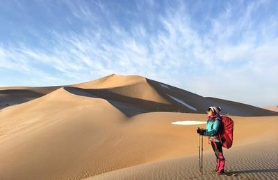 巴丹吉林沙漠8天重装徒步穿越(线路分析+沙漠装备)