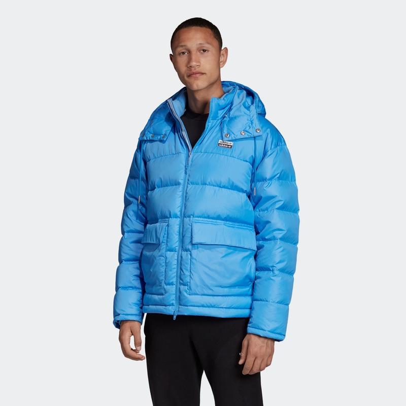 阿迪達斯官網 adidas三葉草男裝冬季羽絨服FL0015 FL0016,降價幅度50%