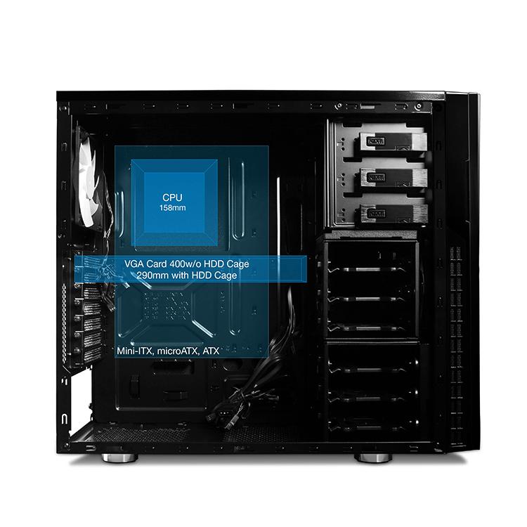 恩杰 NZXT H230 中塔式机箱台式机防尘静音电脑游戏组装机箱,降价幅度10%