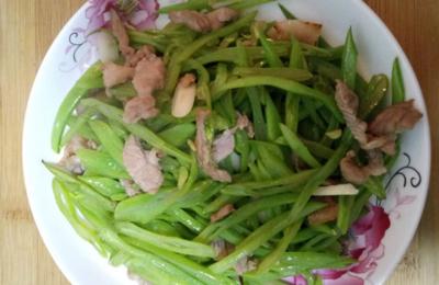 【最丑菜谱】扁豆丝炒肉