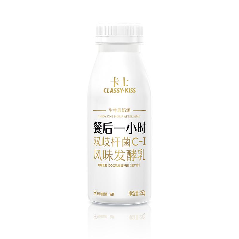 卡士酸奶牛奶整箱酸奶餐后一小时6瓶,降价幅度14.4%