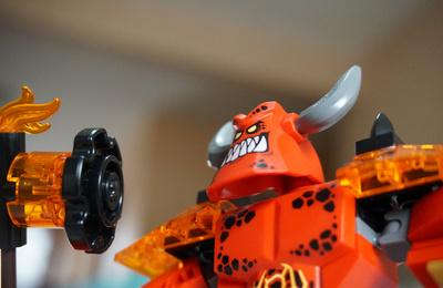 未来骑士与大恶魔 -- 乐高 LEGO 42055 开箱体验