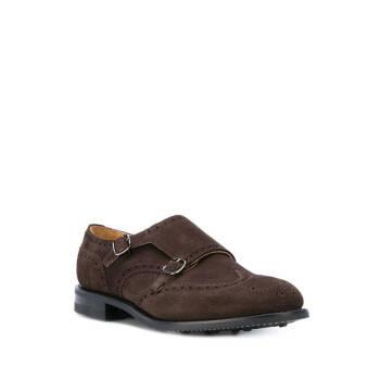 CHURCH'S 男士 雙扣環樂福鞋 褐色 UK10