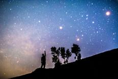 最美妙的一次观赏星空的经历