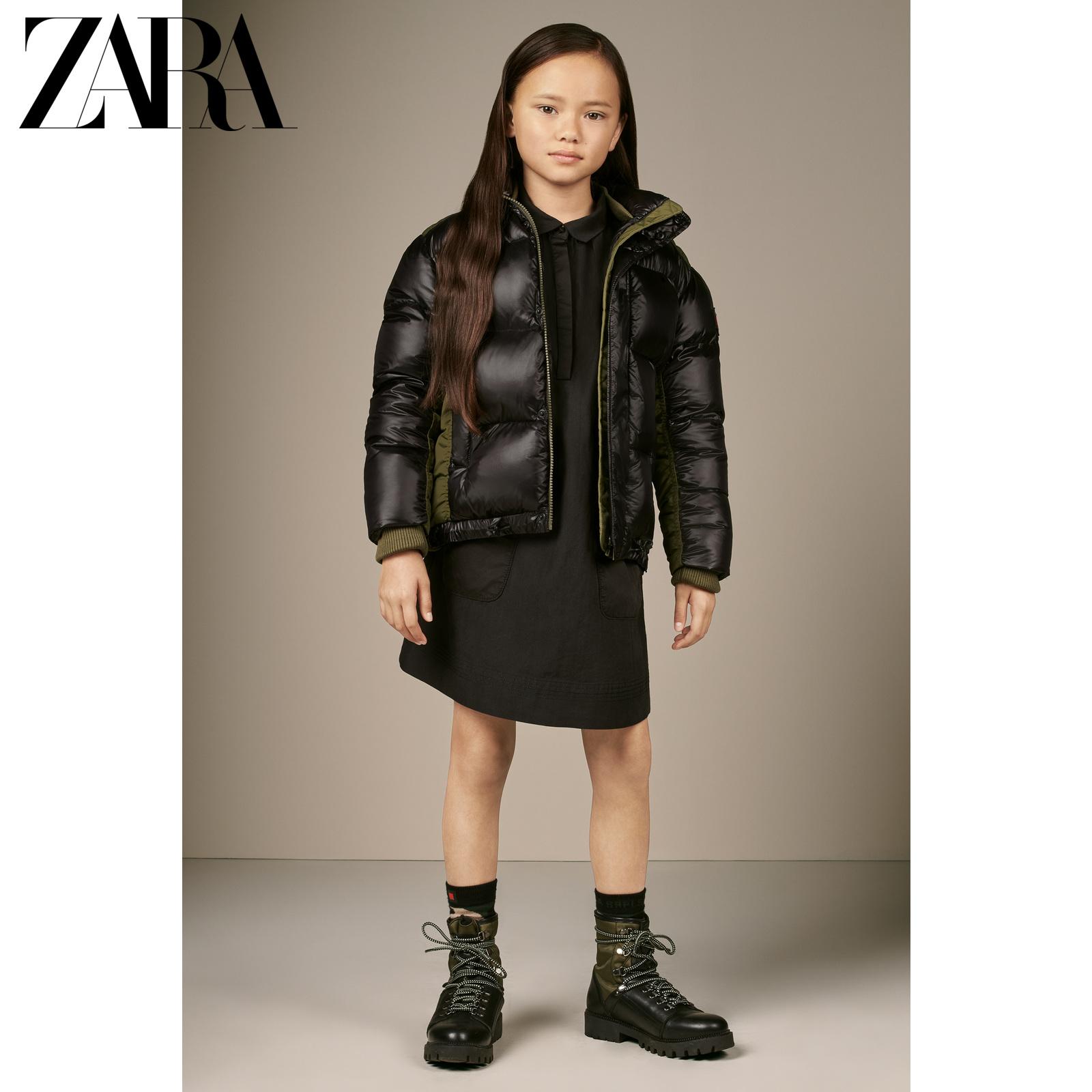 ZARA新款 童装女童 黑色棉质连衣裙 06443037800,降价幅度72.4%