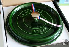 致美味---独一无二的26cm Staub珐琅铸铁锅 Basil色