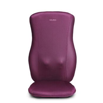 奧佳華(OGAWA) 按摩墊頸椎按摩坐墊家用按摩椅墊座墊按摩器肩頸部按摩器舒活師OG-1002 紫色,降價幅度68.5%