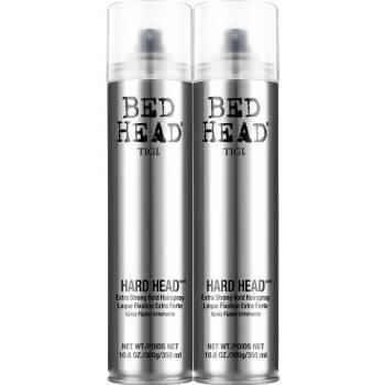美国进口TIGI体吉太空定型喷雾发胶 强力定型清香男女士头发造型干胶啫喱水 发胶2支装