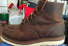 Red Wing 红翼 Heritage 男靴个人穿着感受及尺码的选择