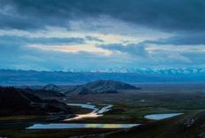 新疆北疆之行(11)巴音布鲁克的溪水潺潺
