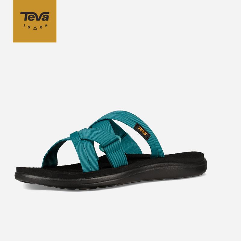 Teva/太哇涼鞋女Voya Slide平底舒適耐磨潮流夾腳拖涼拖2019年夏,降價幅度57.4%