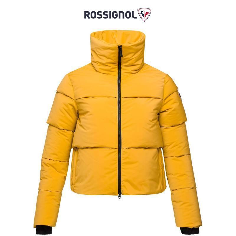 ROSSIGNOL卢西诺女士户外短款外套羽绒服防水防潮法国羽绒衣保暖