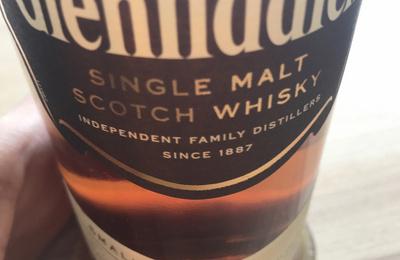 问君能有几多愁?来,再喝一杯酒,Glenfiddich格兰菲迪18年。