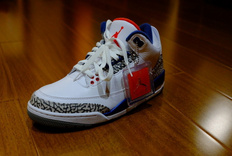"Air Jordan 3 ""True Blue""开箱"