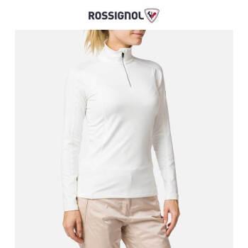 ROSSIGNOL卢西诺女士滑雪服内穿内搭速干透气弹力滑雪衣保暖衣冬RLIWL02 白色 L