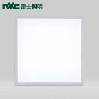 雷士照明(NVC)led集成吊頂600*600 平板燈面板燈格柵燈 鋁扣板吸頂燈 天花板嵌入式 白色36w 辦公商業工程,降價幅度32.1%