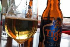 据说是东南亚第二的啤酒,Tiger虎牌啤酒