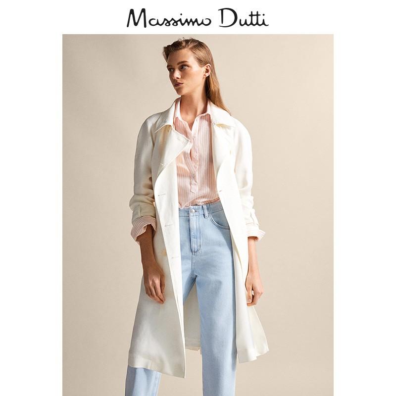 春夏大促 Massimo Dutti 女裝 棉質條紋襯衫 05114514906