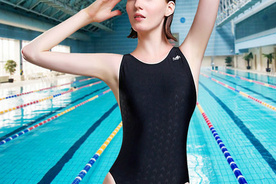 英发连体三角泳衣经典款 YF1149