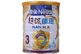 雀巢超级能恩3段奶粉